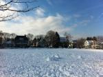 Fletcher Field during winter