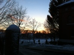 Sunset at Tufts, Boston