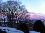 sunset tufts campus