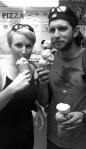 Eis essen auf Key Largo