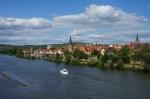 Karlstadt ist im 12.Jahrhundert entstanden und ist ein schönes Ziel für eine Main-Fahrradtour