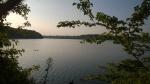 An meinem ersten Jet-Lag-Morgen war ich am Freshpond zum Sonnenaufgang