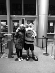 Max, das Maskottchen und ich