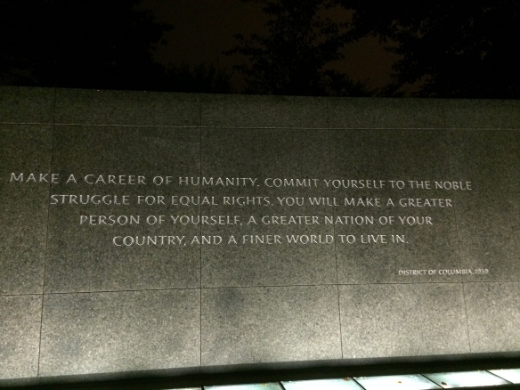 Martin Luther KIng-Memorial in DC