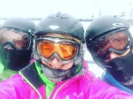 Skiing Selfie Cannon Mountain