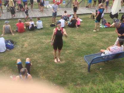 Vorher....Sprint-Triathlon Waldeck
