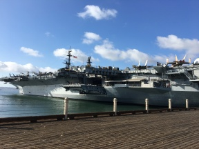 aircraft carrier museum in San Diego